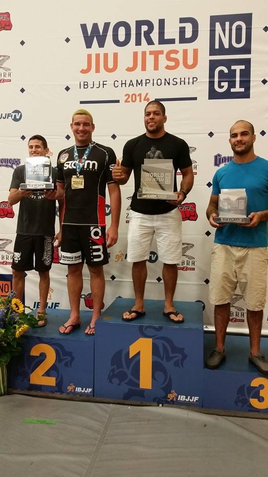 Vier wereldtitels en tweede plaats Brasa  CTA op WK NO-GI